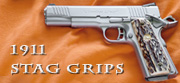 colt 1911 stag grips